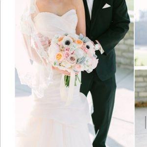 Monique Lhuillier Peony Blush Wedding Gown